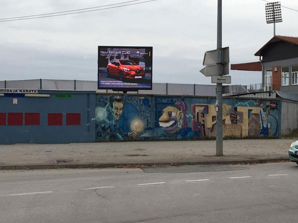 izdavanje led bilborda,izdavanje led bilborda sabac,digitalni bilbordi,LED Mreža Srbije
