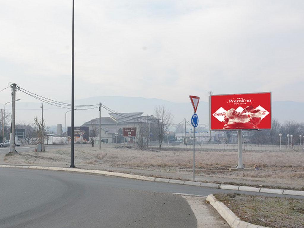 Dvostrani LED ekran,Zakup bilborda Vrnjačka Banja