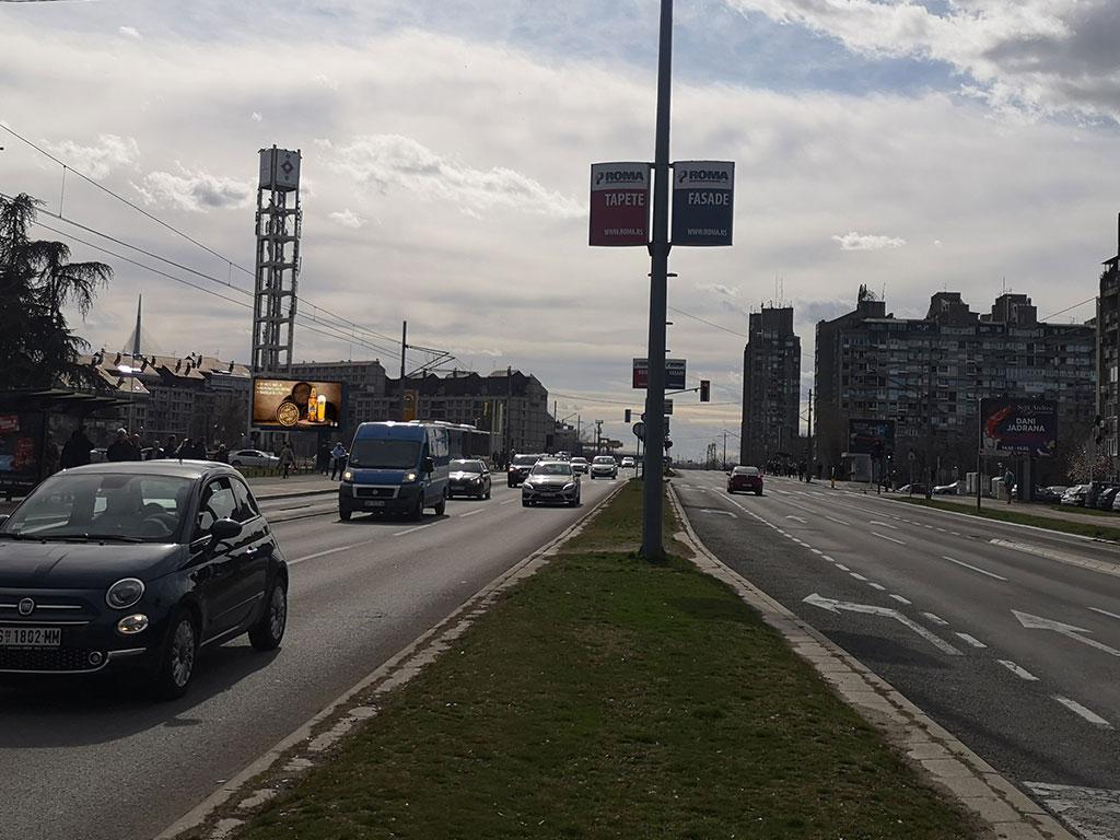 Izdavanje bilborda Beograd