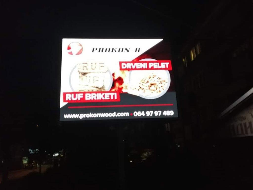 Zakup LED bilborda Ljubovija