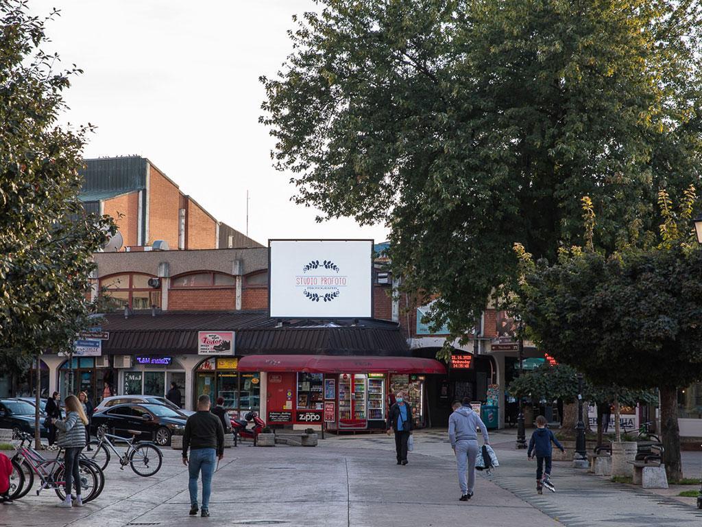 Iznajmljivanje LED bilborda u centru Pirota