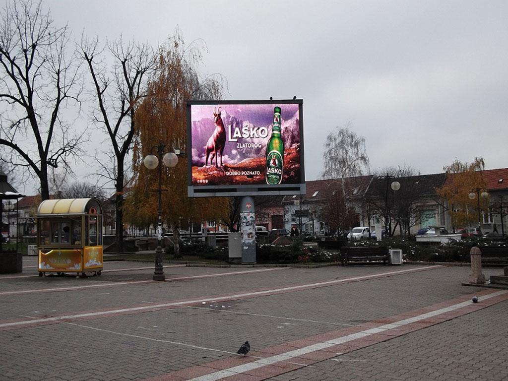 Reklamni LED ekrani Vršac