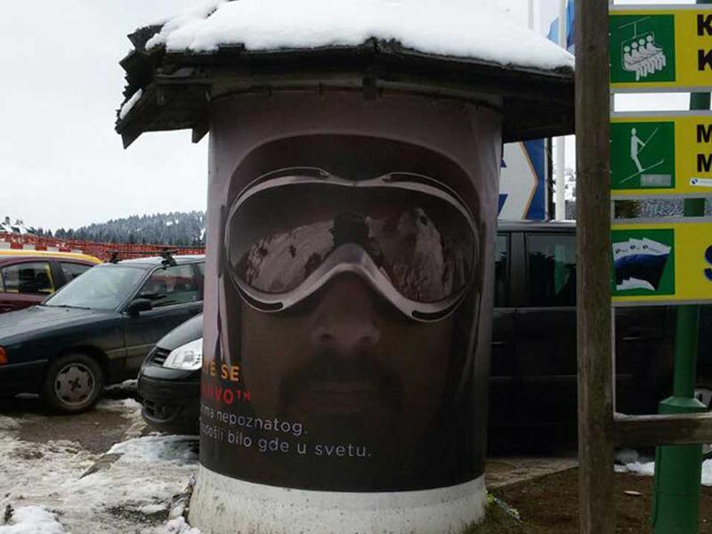 Outdoor oglašavanje na Kopaoniku,izdavanje bilborda kopaonik,bilbordi kopaonik